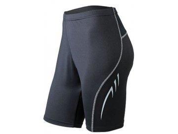 Dámské běžecké kraťasy Running Short Tights (Barva Černá, Velikost oděvů XXL)