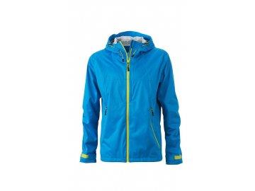 Ultra-lehká softshellová bunda do extrémních podmínek modrá