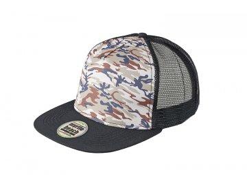 Kšiltovka Mesh Cap Camouflage