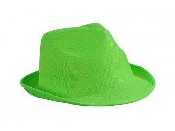 Lehký letní promo klobou v mnoha barvách - limetková