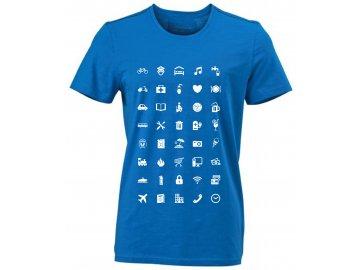 Pánské tričko pro cestovatele Urban World
