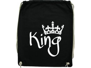 Vak na záda KING černá