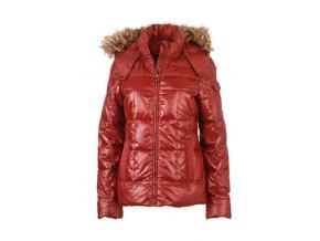 Dámská zateplená bunda Padded dark red