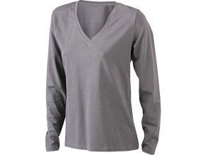 Dámské triko Stretch Shirt Longsi V