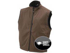 Pánská funkční softshell vesta