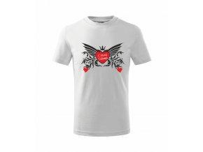 Dětské tričko s potiskem KRÁSNÝ VALENTÝN