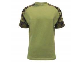 Pánské tričko Raglan Military