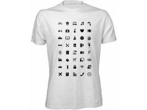 Tričko s ikonami World