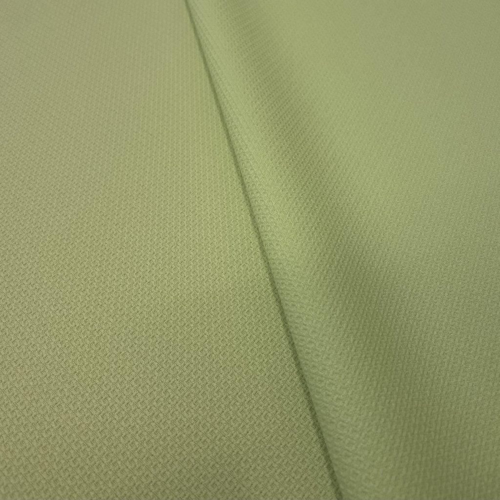 5193 drobny vzorek polyester zluta kostymovka
