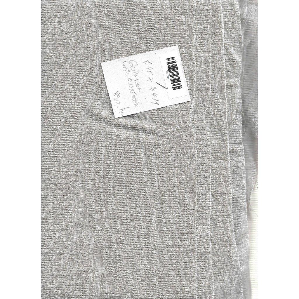 4509 len polyester kvetinovy vzor transparentni 2