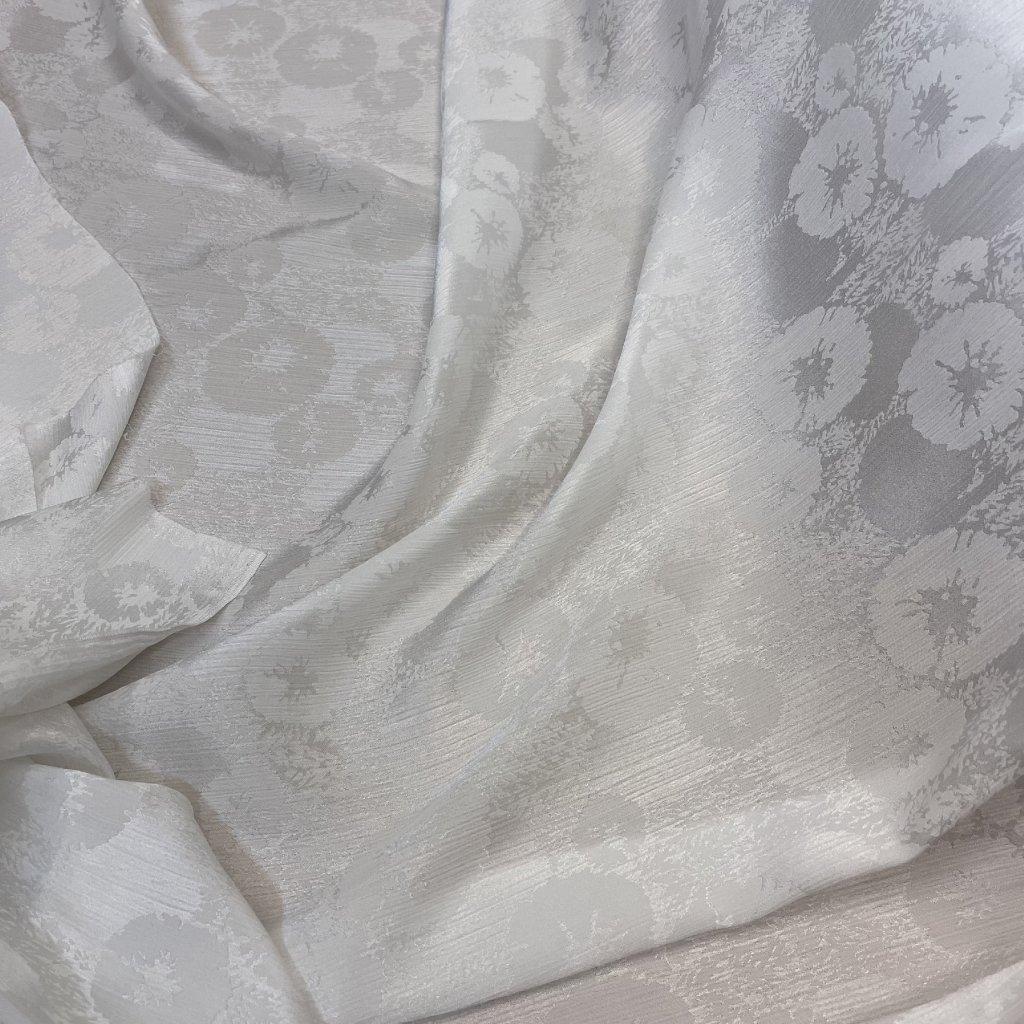5265 polyester lehky krep kvetiny