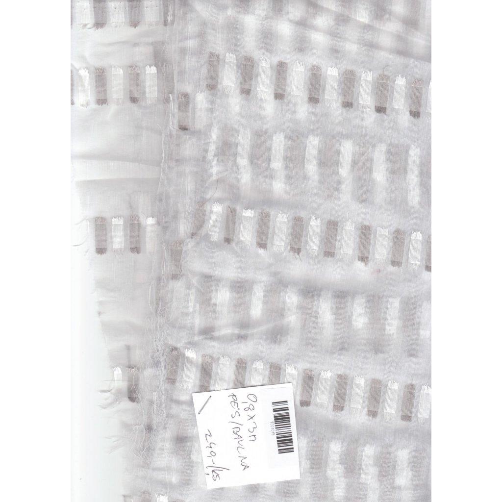 4746 transparentni bily vzorek