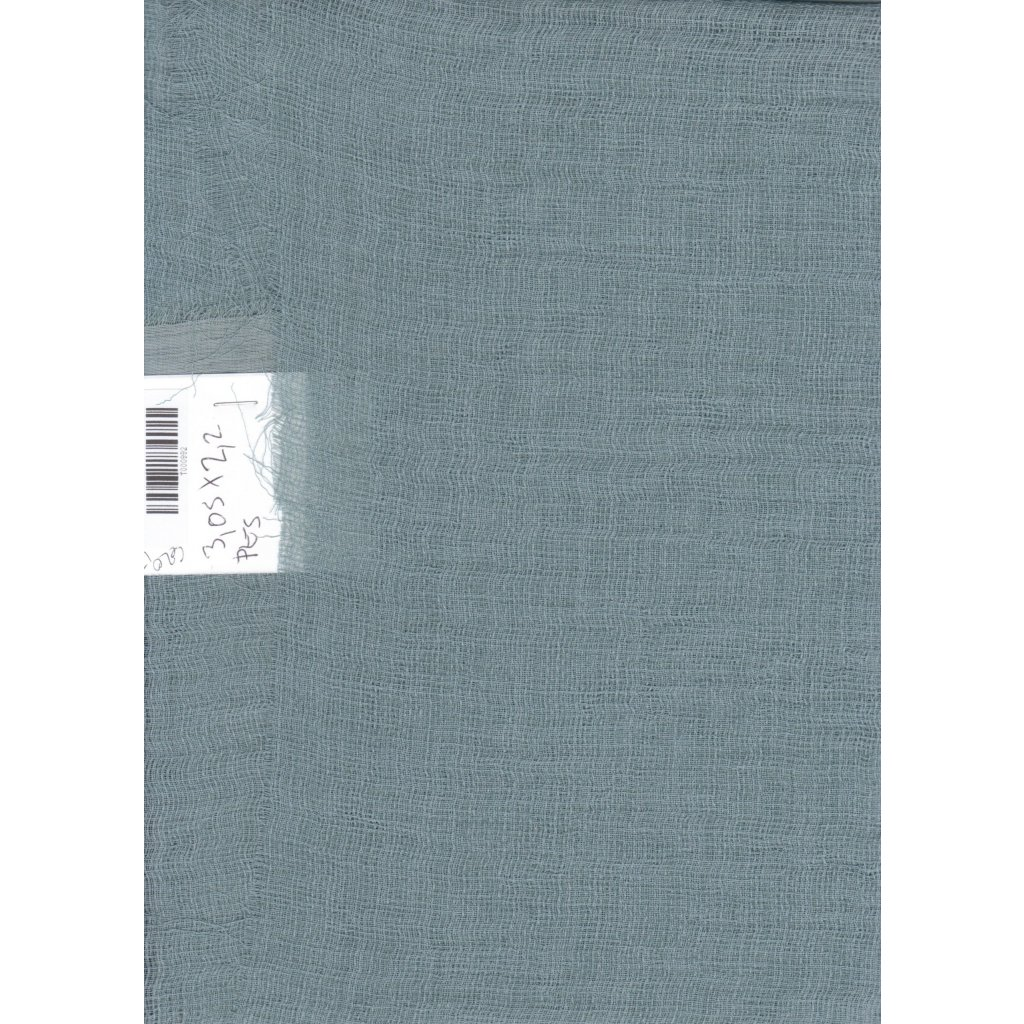 4776 transparentni polyester tmavy tyrkys