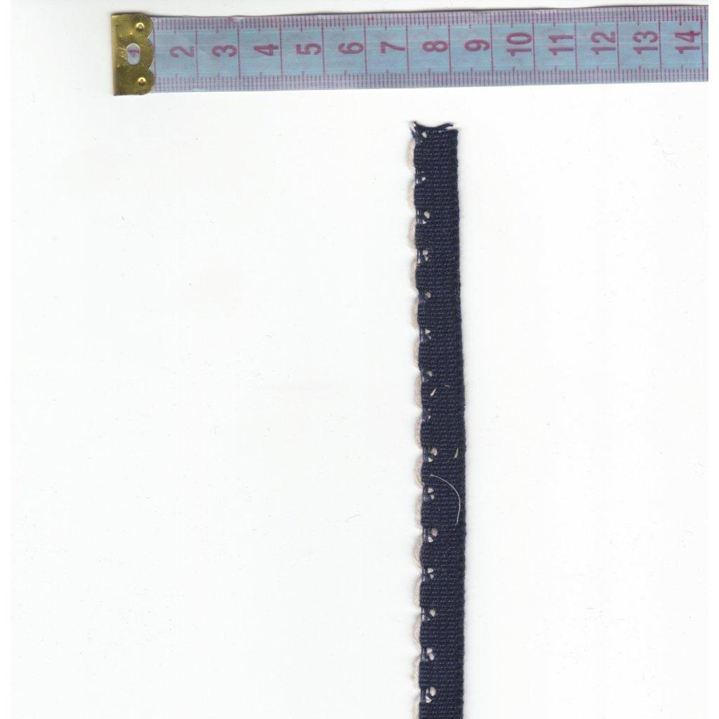 3407 stuha knoflikova indigo