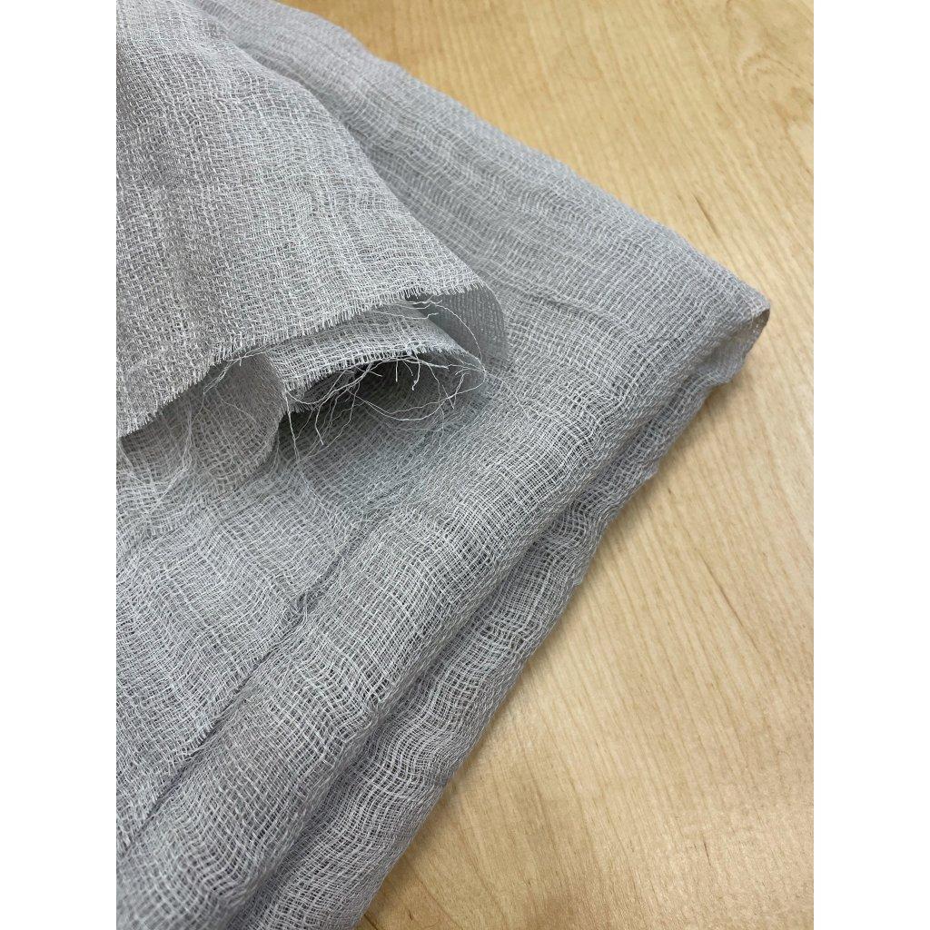 3581 ridce tkany sedy polyester