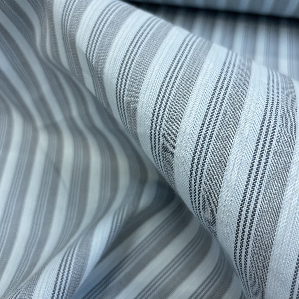 4169 svetly modry prouzek bavlna kosilovina