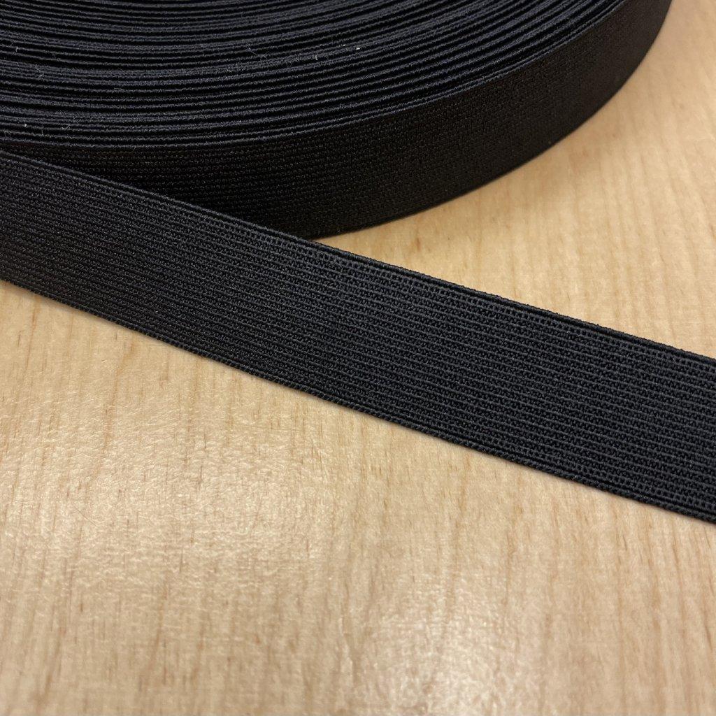 Pruženka černá, 20mm