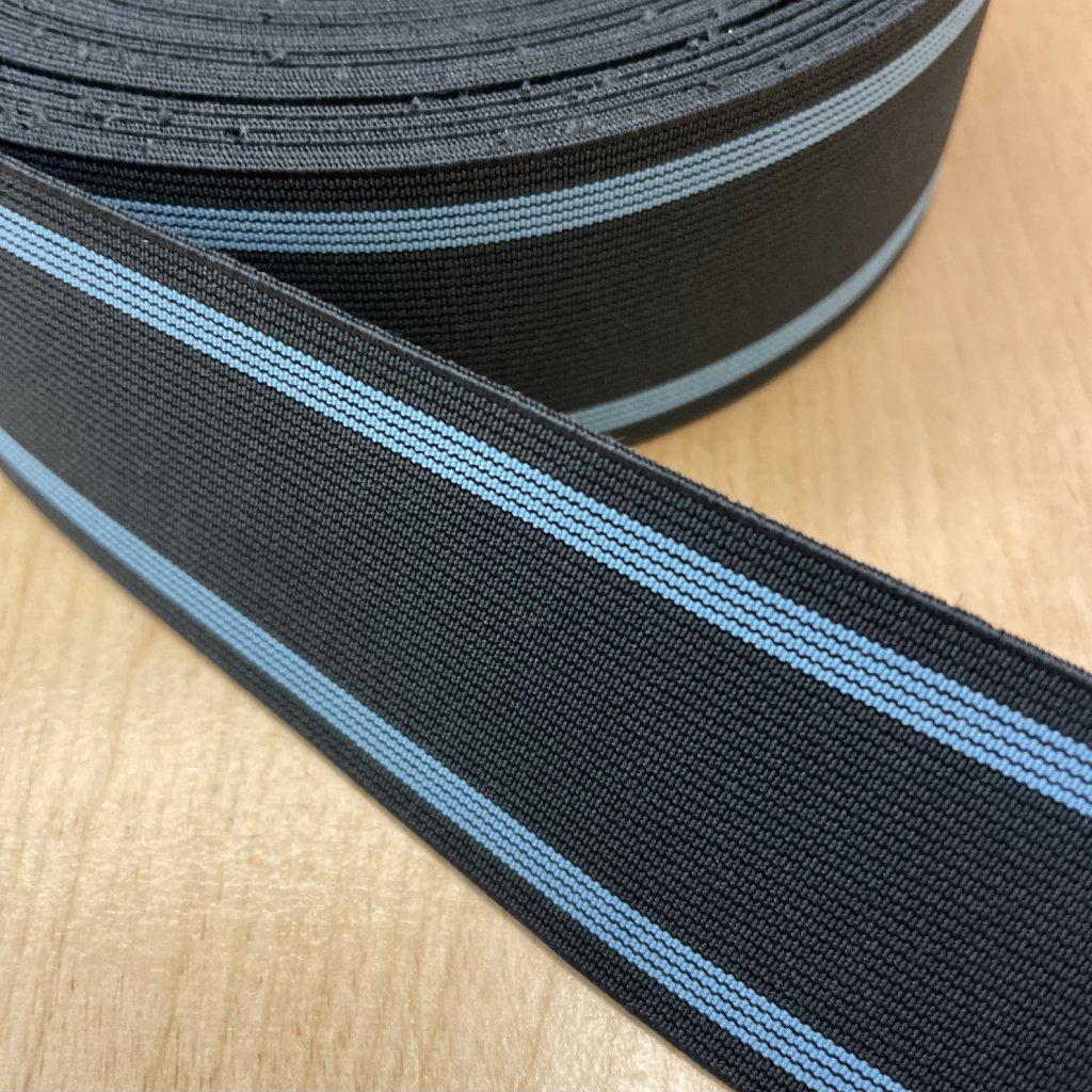 Pruženka modrý proužek, 43mm