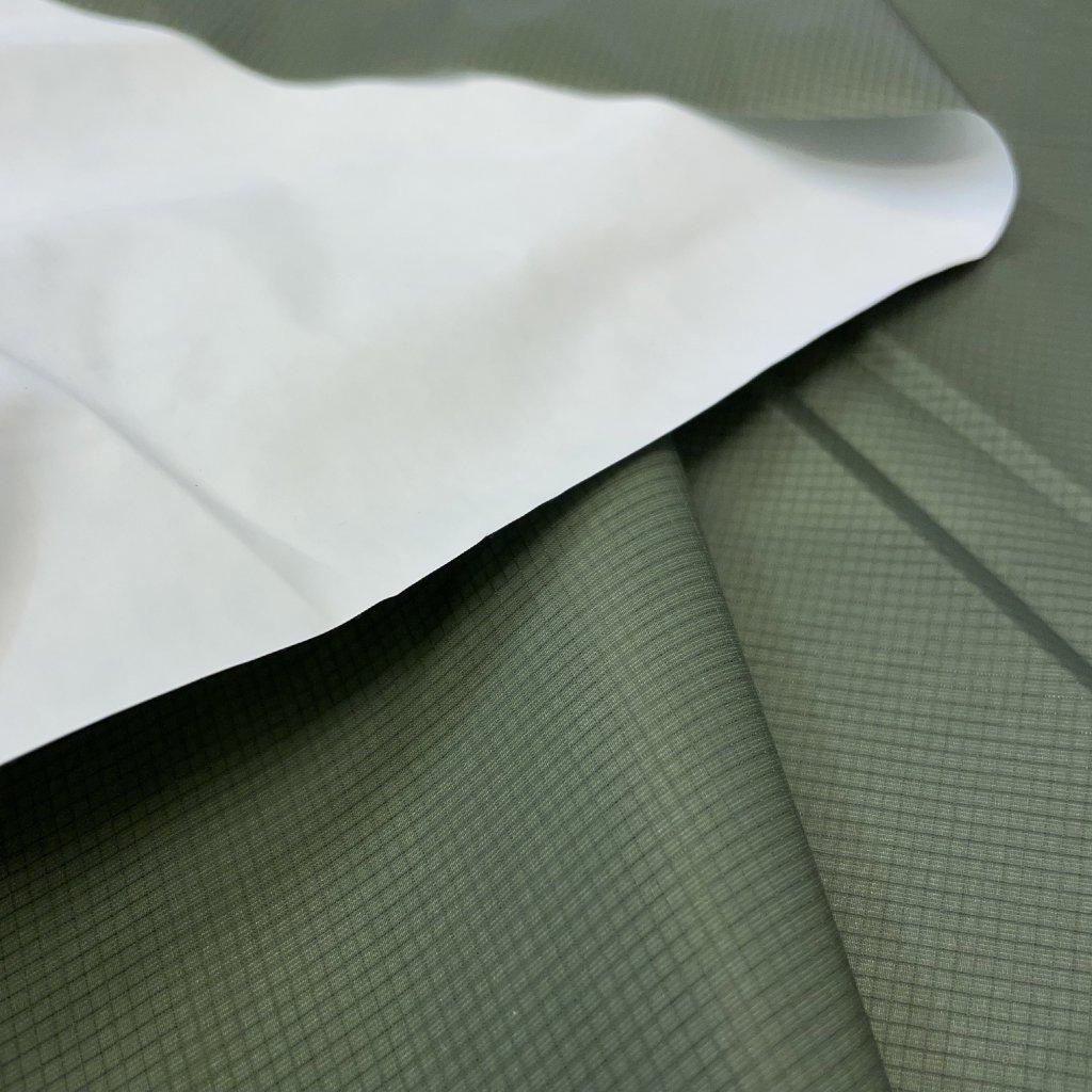 Outdoor polyamid PVC zátěr, khaki