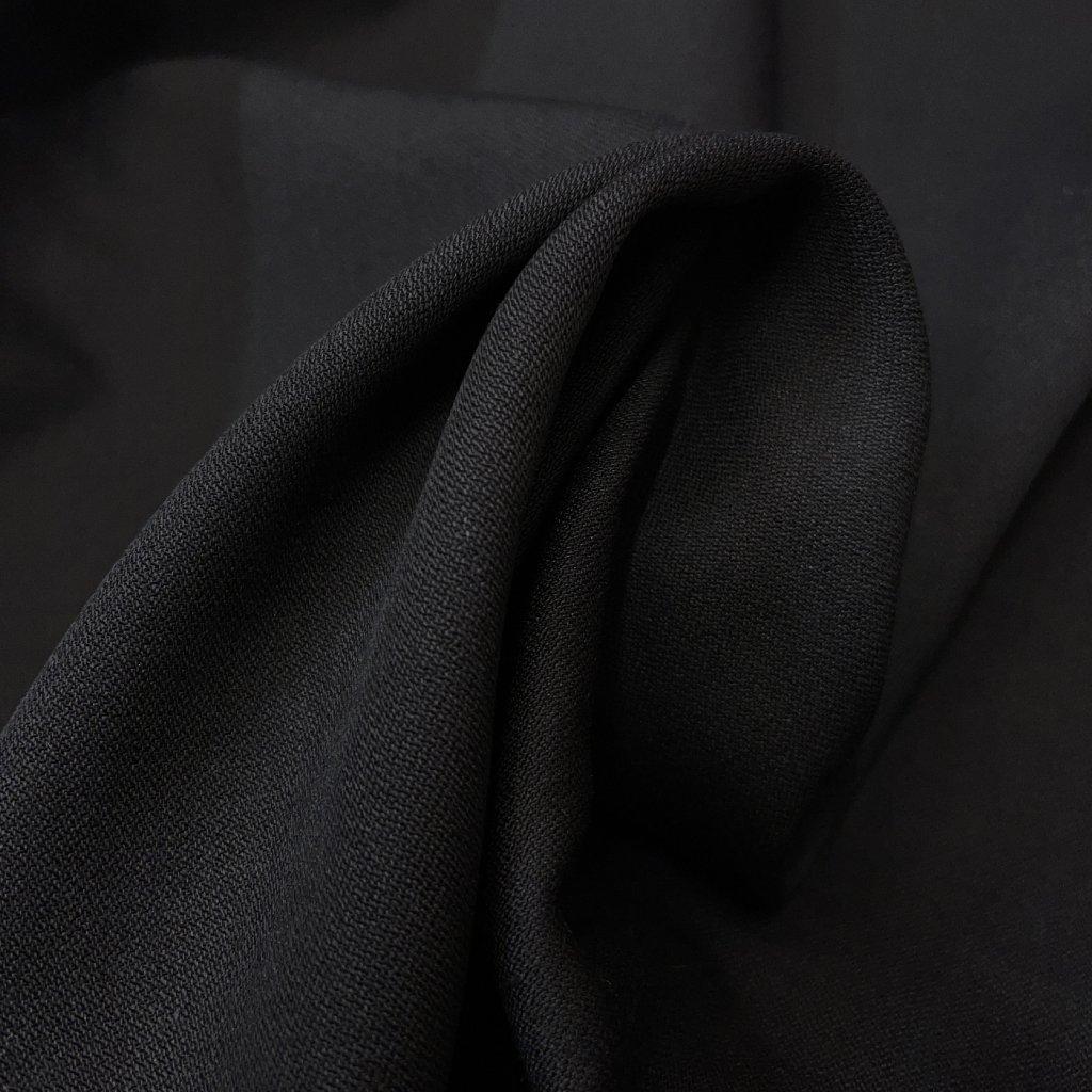 Double poctivá oblekovka černá, vlna/hedvábí