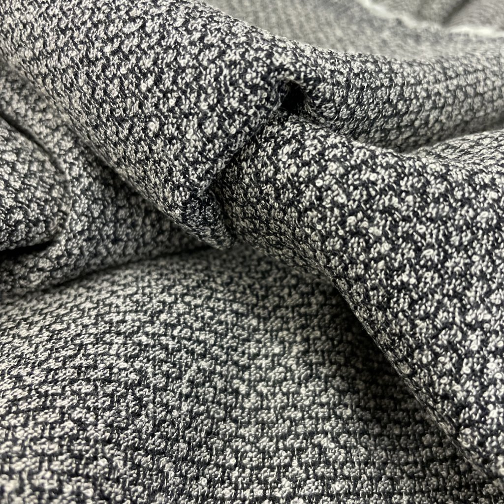 Zrnitá oblekovka/kostýmovka, vlna/polyester