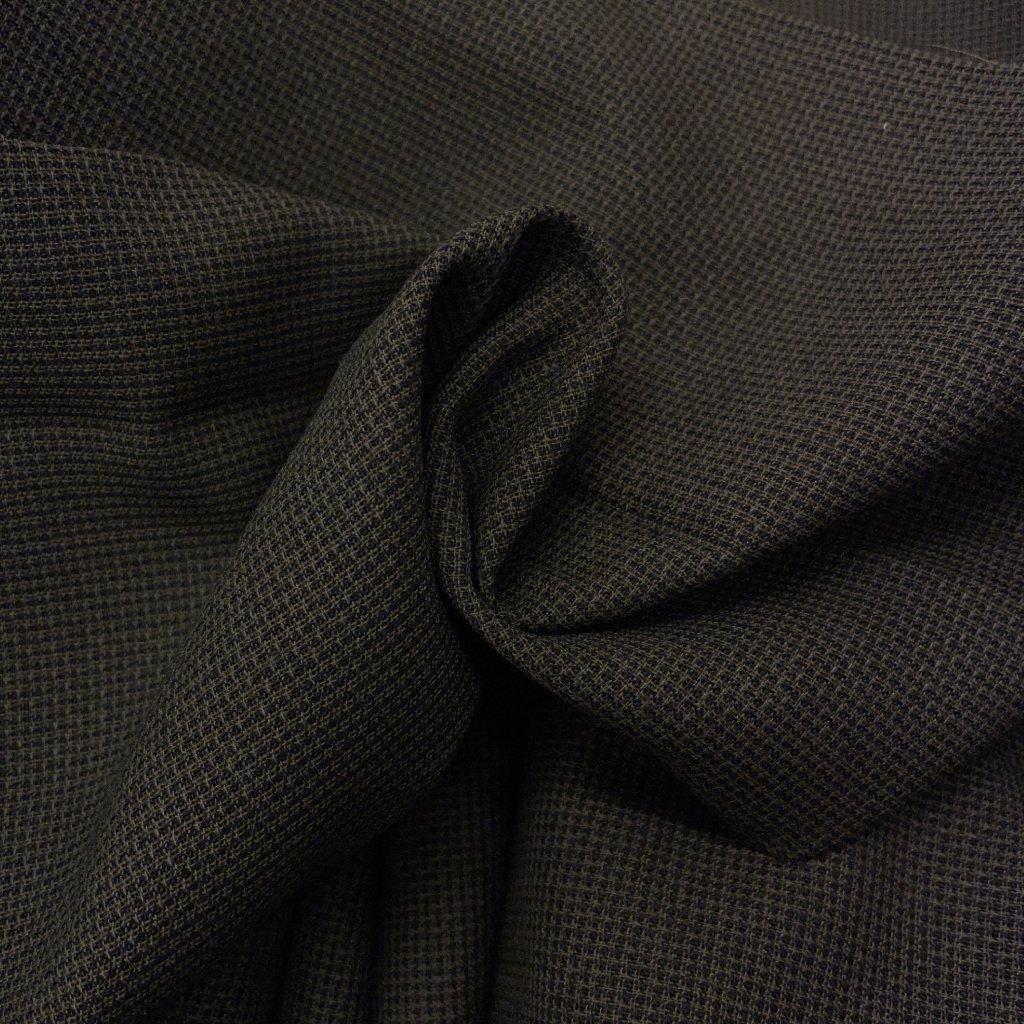 Plátno vlna/syntetická vlákna, lehce transparentní, šedá