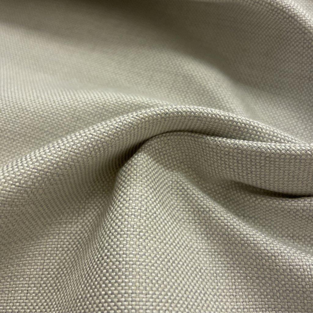Pevné čalounické plátno/lehátkovina, bavlna+synt. vlákna, nejsvětlejší šedá