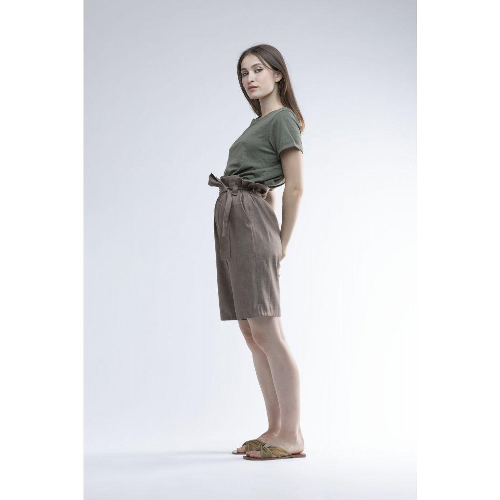 kalhoty Manon khaki