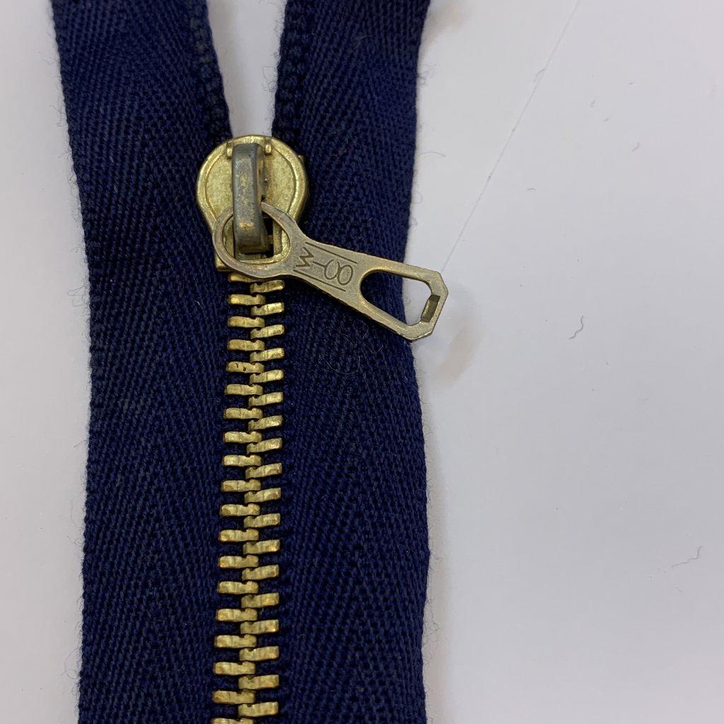 Zip modrý 24CM