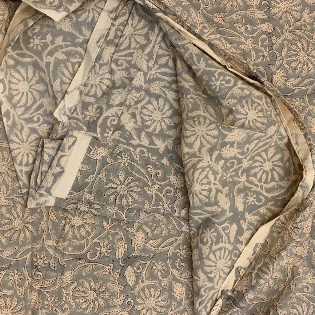 Jain&Kriz ručně tištěné bavlněné plátno Flowers 2