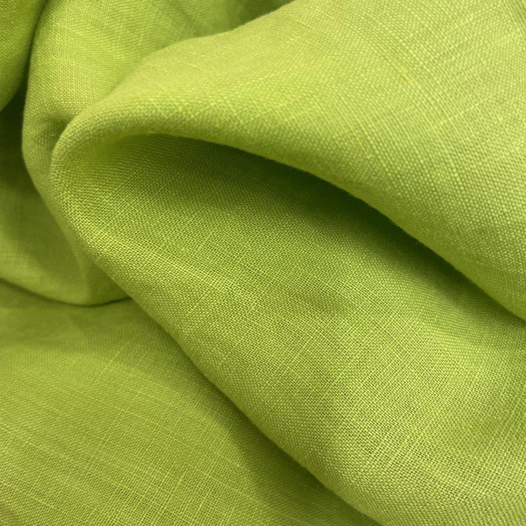 Jain&Kriz len, ručně tkané, Lime