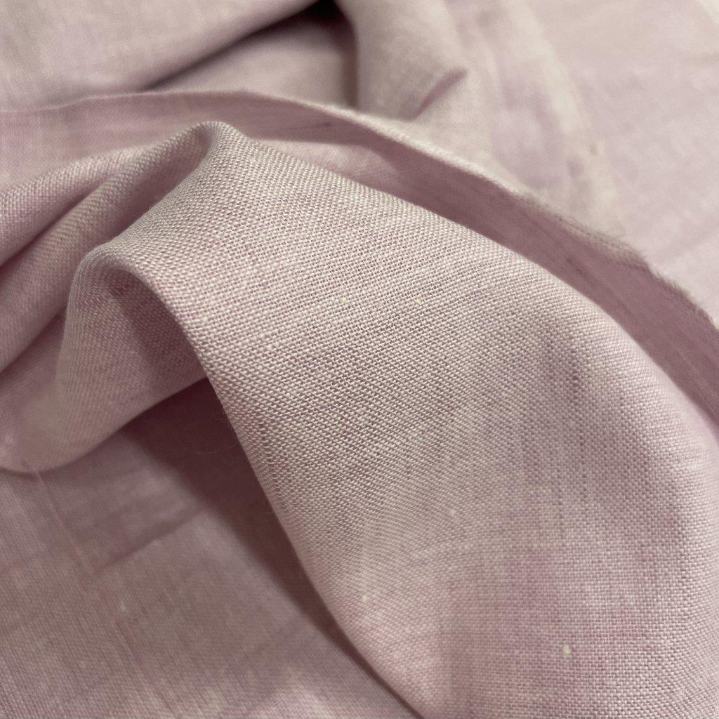 Jain&Kriz len/bavlna, ručně tkané, Lila