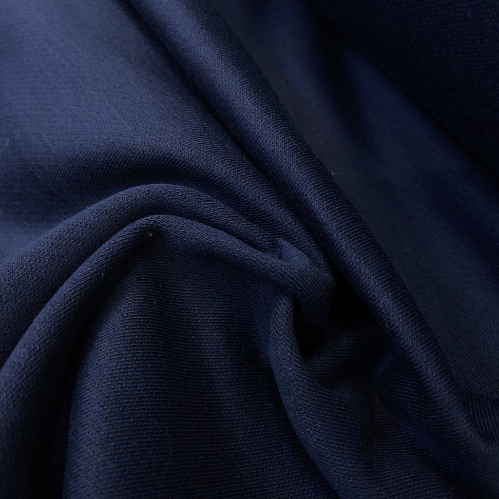 Navy oboulíc, teplákový, bavlna