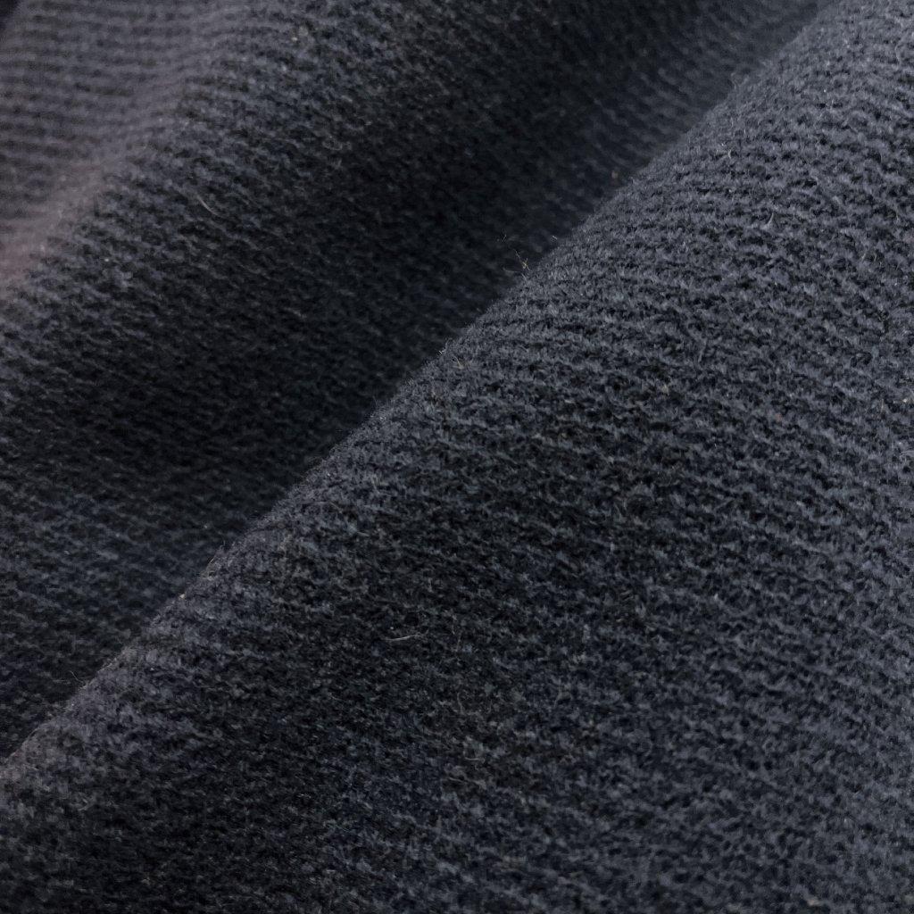 Navy řezané sukno