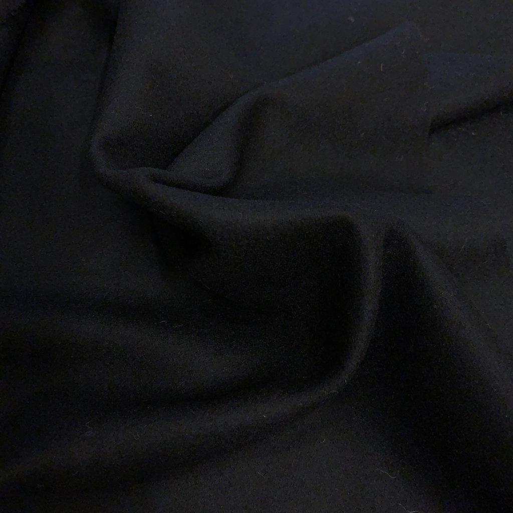 Vlněné sukno, černé 1