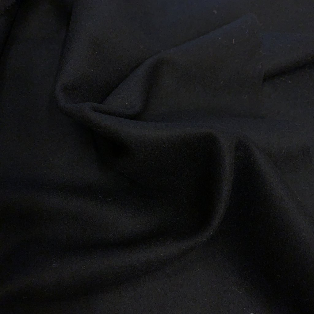 Vlněné sukno, černé 2