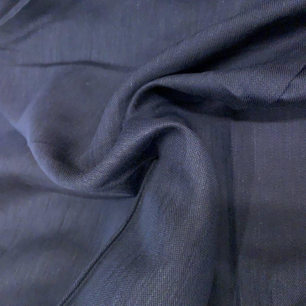 Tmavě modrá viskóza