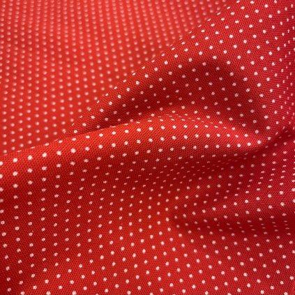 Shwe shwe africké plátno, červené drobné ťupky 2