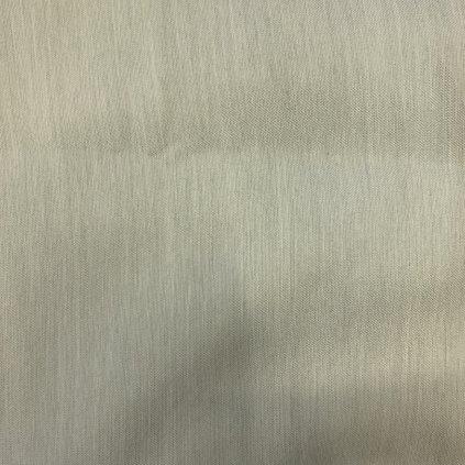Šedý polyester v atlasové vazbě