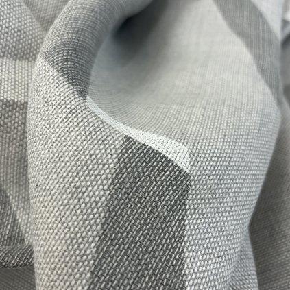 Polotransparentní závěsový voál, bavlna/synt.vlákna