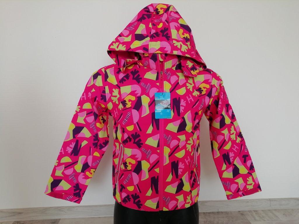 Jarní softshell bunda