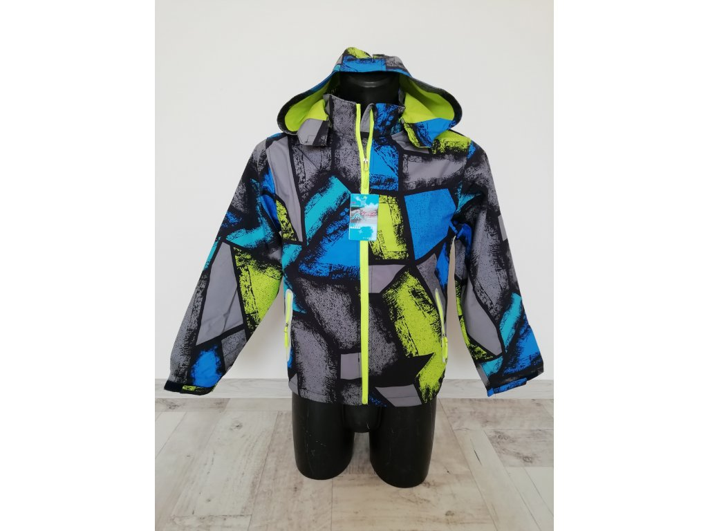 B3019 Kugo chlapecká bunda jarní softshell