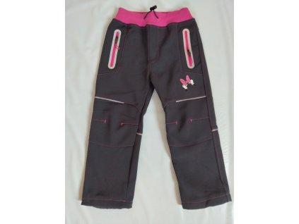 HK1778 Kugo dívčí softshell kalhoty - zateplené