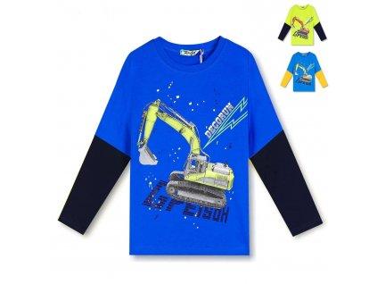 ET3161 Kugo chlapecké triko dlouhý rukáv