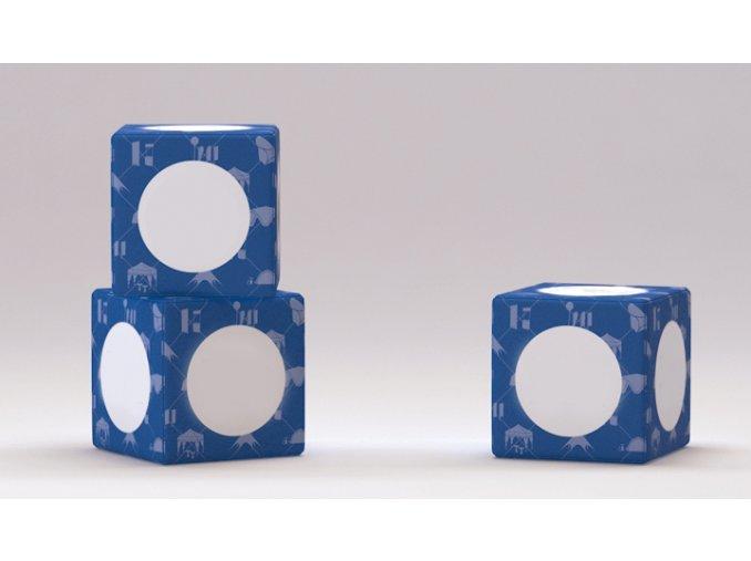 Sedenie kocka Cube 45x45x45cm