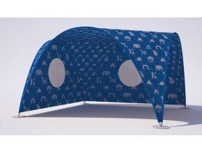 Stan Vario 3x3m a 4x4m, skladací, textilný