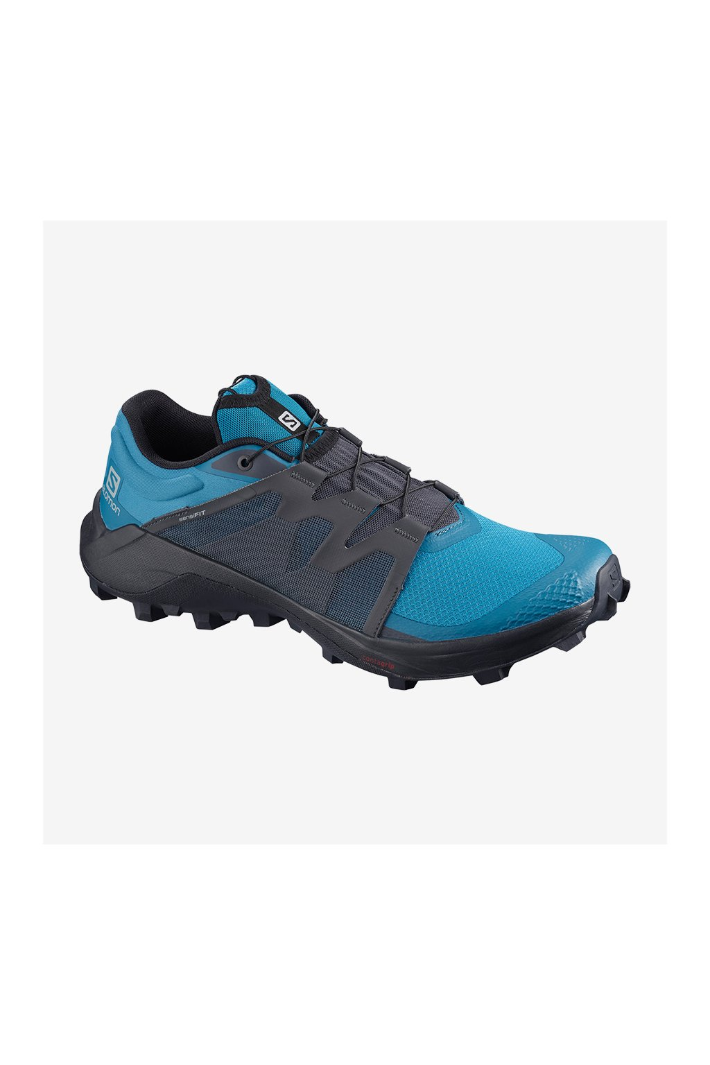 SALOMON Obuv WILDCROSS Fjord Blue/Ebony/LYONS