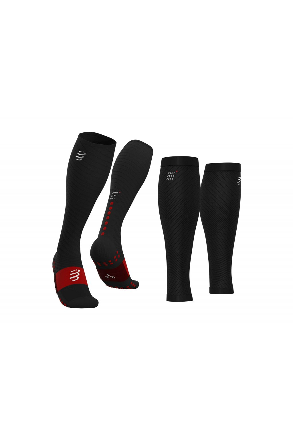 sock and compression sleeve