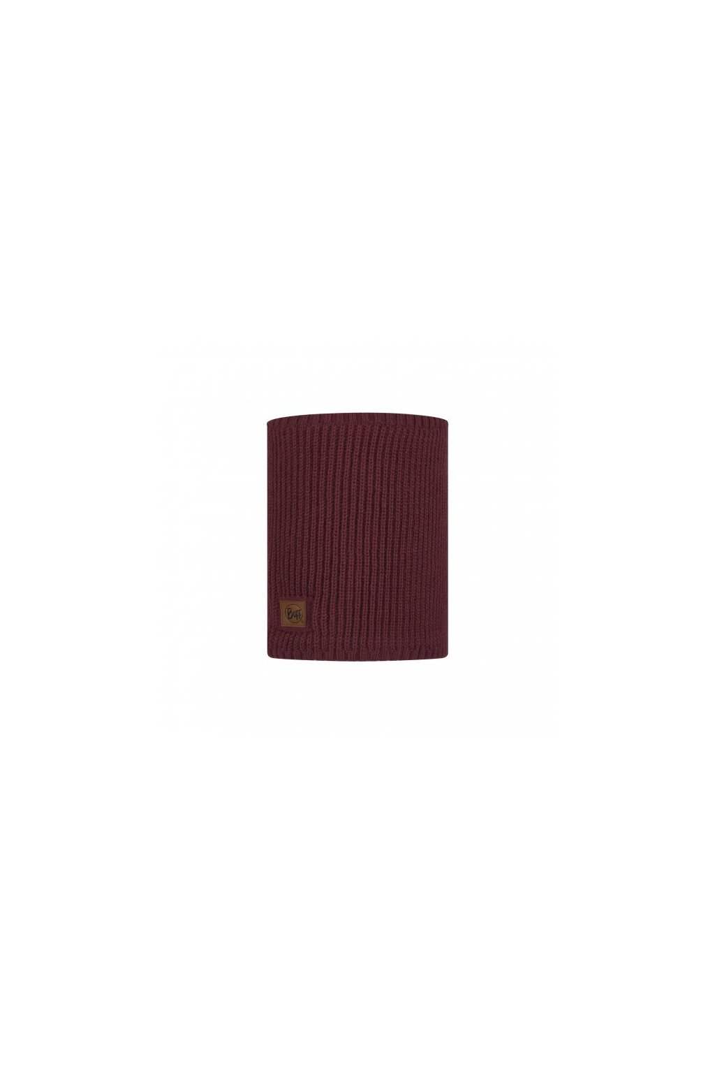 knitted polar neckwarmer buff rutger maroon 1179026321000