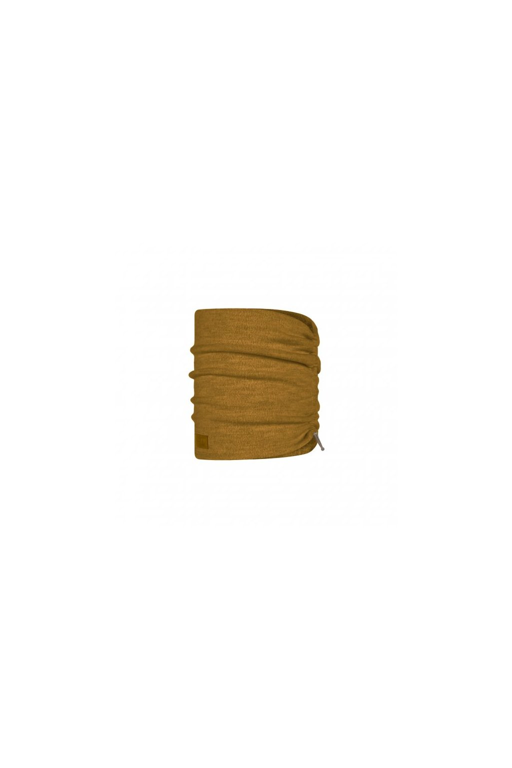 merino wool fleece neckwarmer buff ochre 1241191051000